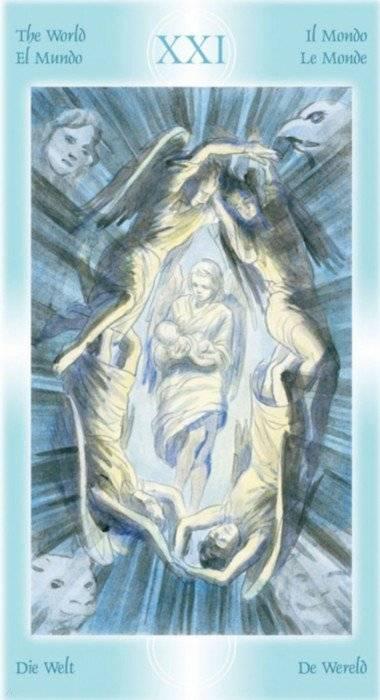 Гадание на колоде таро ангелов
