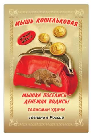 Кошельковая мышь для привлечения денег: что это такое, как выглядит, фото