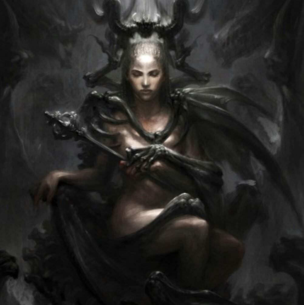 Касикандриэра — богиня из иного мира, демоница и королева ада