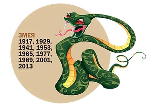 Китайский (восточный) гороскоп: год змеи