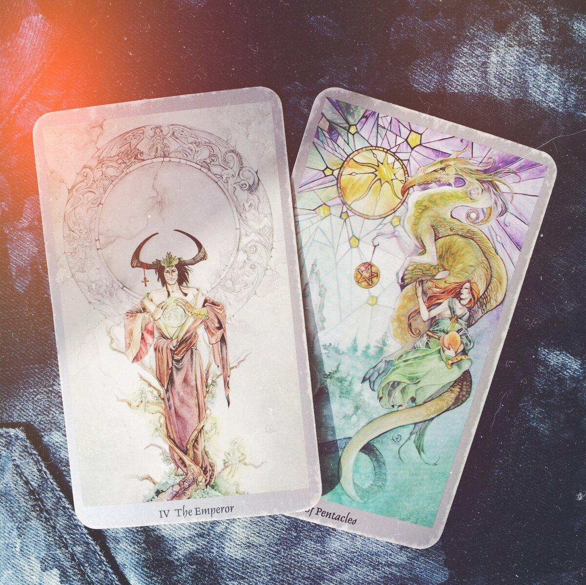 Tarot shadowscapes, или таро мыса теней — колода в стиле фэнтези