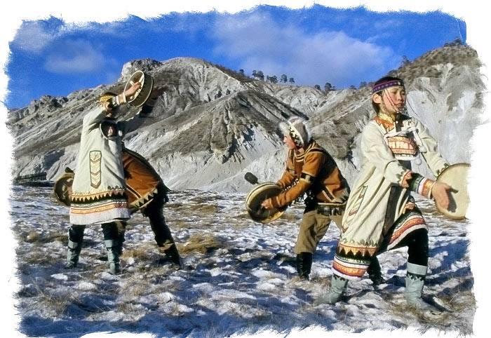Шаманы алтая, якутии, бурятии и прочих народов сибири