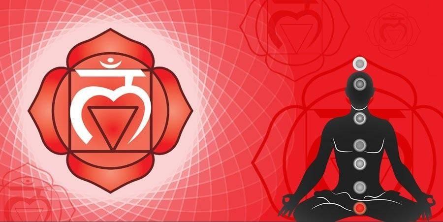 Где находится первая чакра и как восстановить муладхару чакру