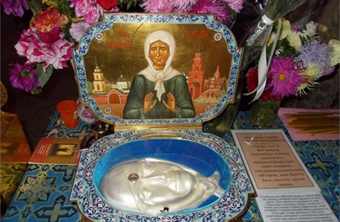 Мощи матроны московской: где находятся и о чем просить, история и описание