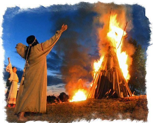 День велеса — зимний и летний сноп, славления и заговоры