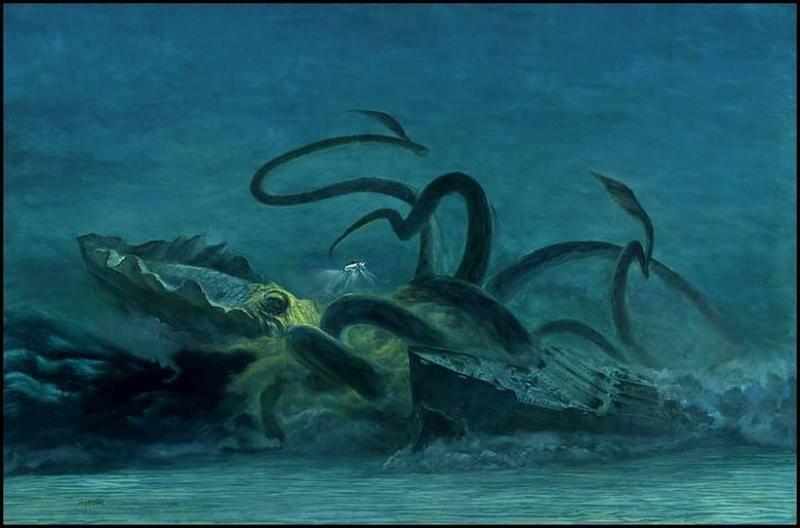 Кракен — зловещая тайна океанских глубин (8 фото). кракен — легендарное чудовище из морских глубин почему кракен выбросился на берег