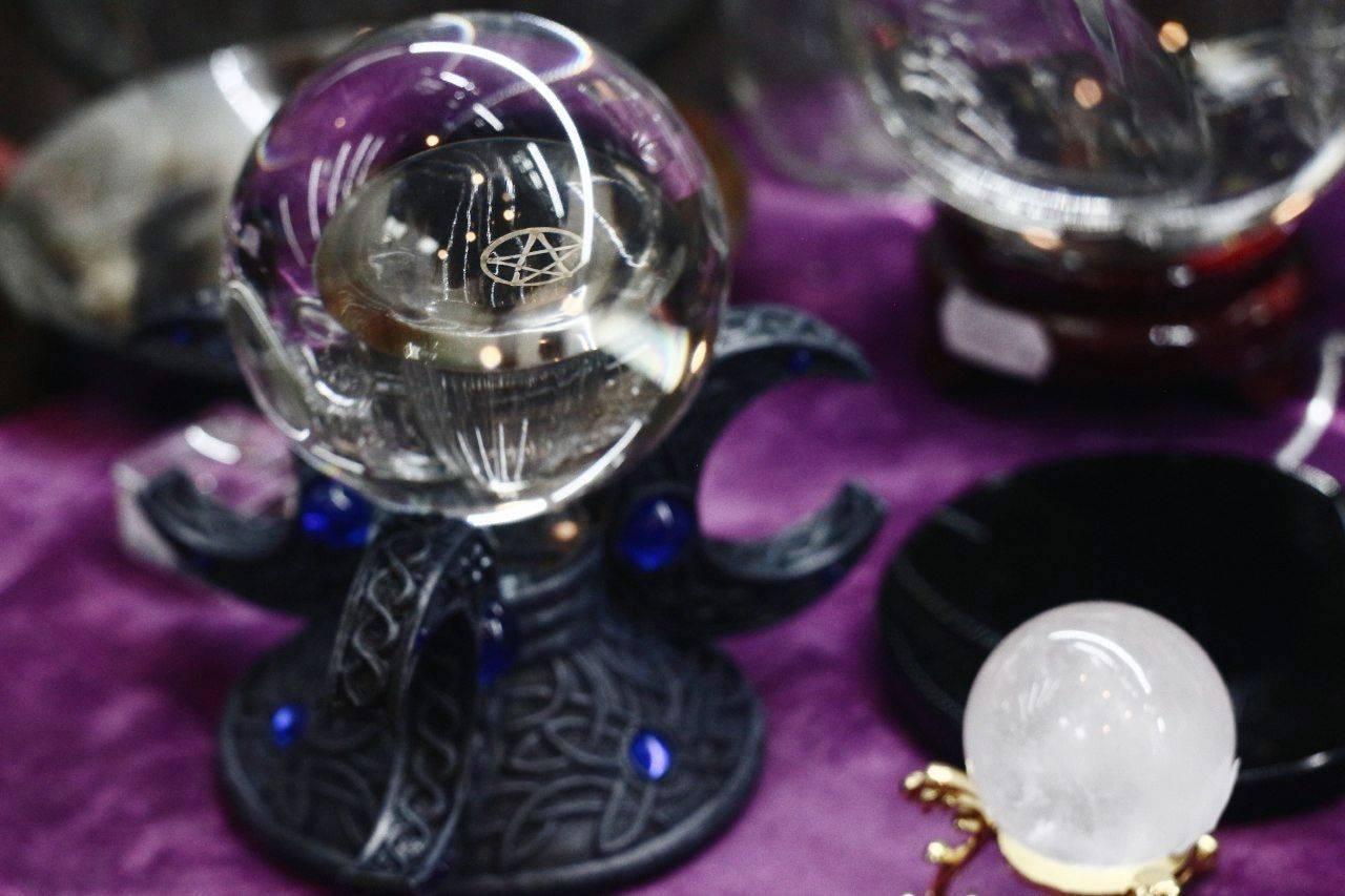 Хрустальный шар предсказаний судьбы