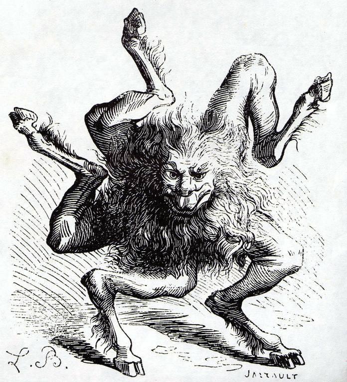 Демоны «гоетии»