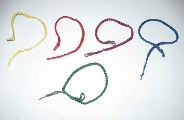 Что означает синяя нитка на запястье?