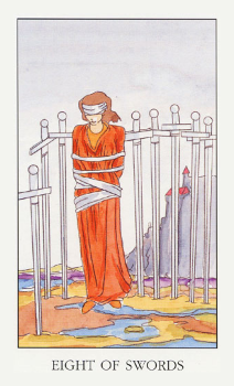 8 (восьмерка) мечей: значение в отношениях, работе, любви, ситуации