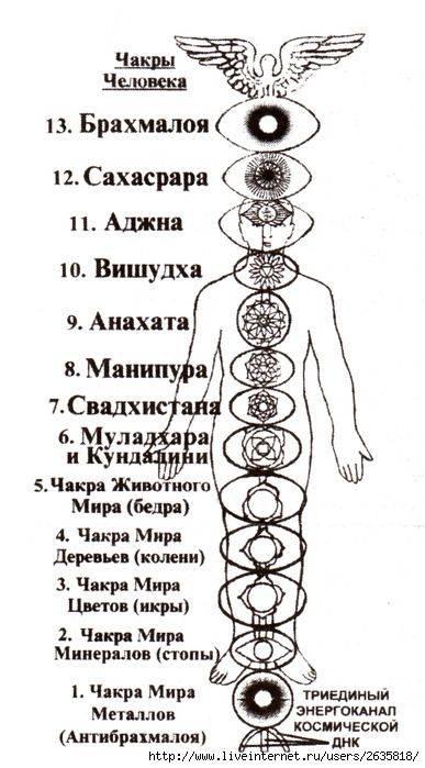 Славянская система чакр: их значение и отличие от восточной (2 фото + видео)