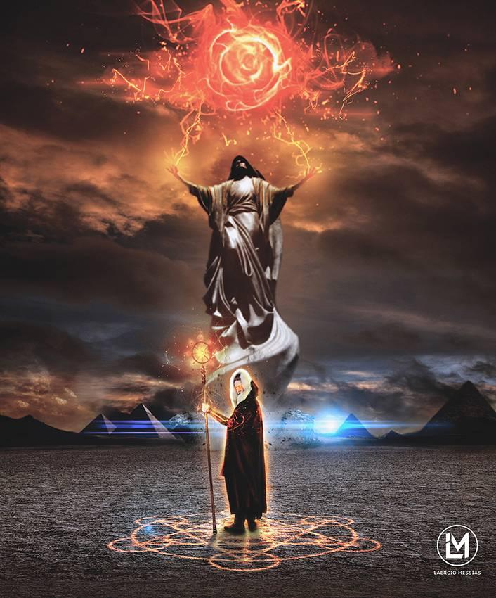 Абраксас — бог, хранитель вселенной, могущественный воин (5 фото)