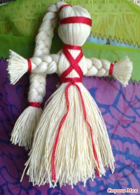 Лялька мотанка — оберег из ниток своими руками