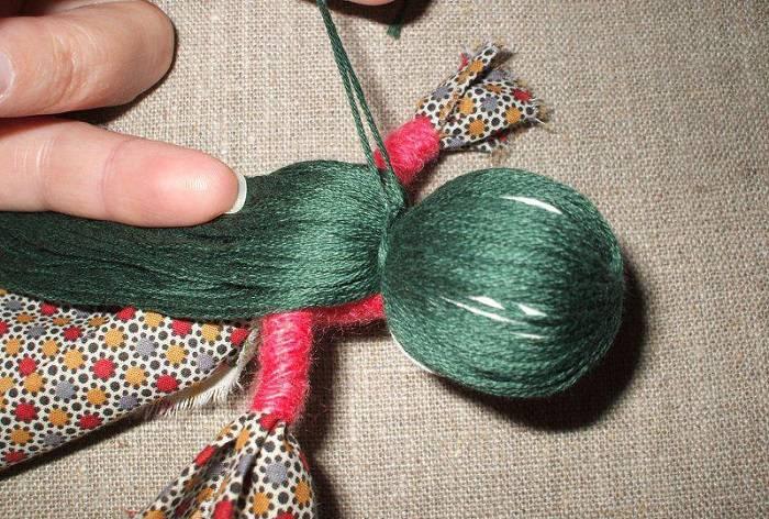 Виды кукол — оберегов из ткани