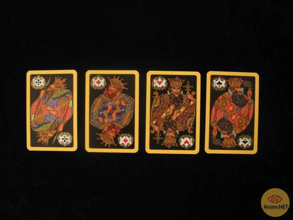 Гадание на 4 королей онлайн — кто ваша судьба?