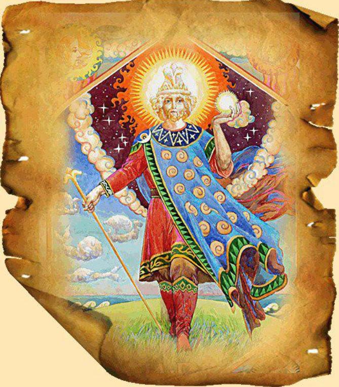 Бог ра солнце четырёхликий и его сезонные проекции