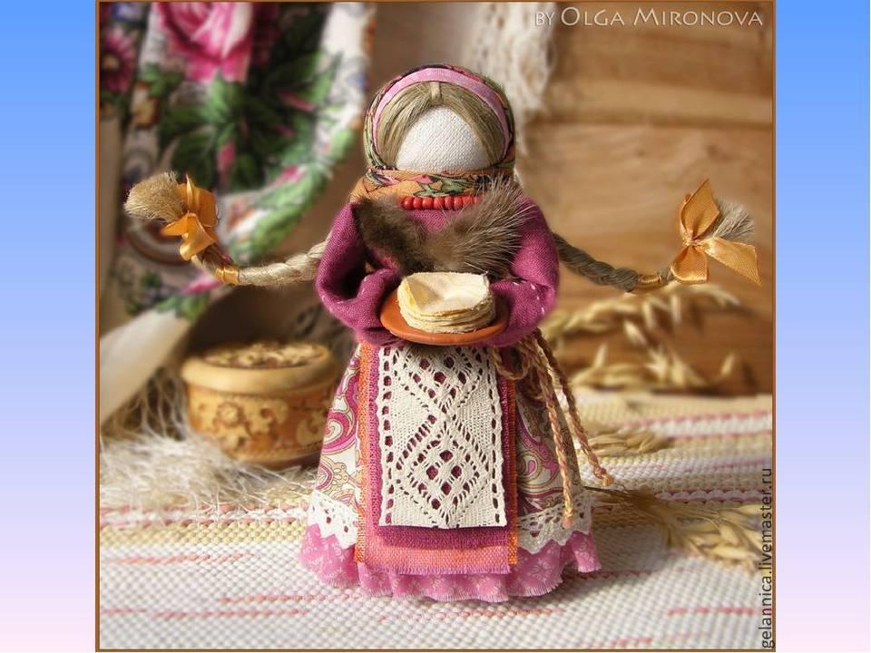 Кукла-масленица для детского праздника