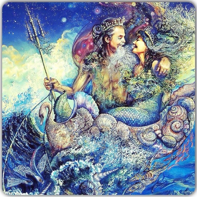 Посейдон и божества моря | мифы и легенды древней греции