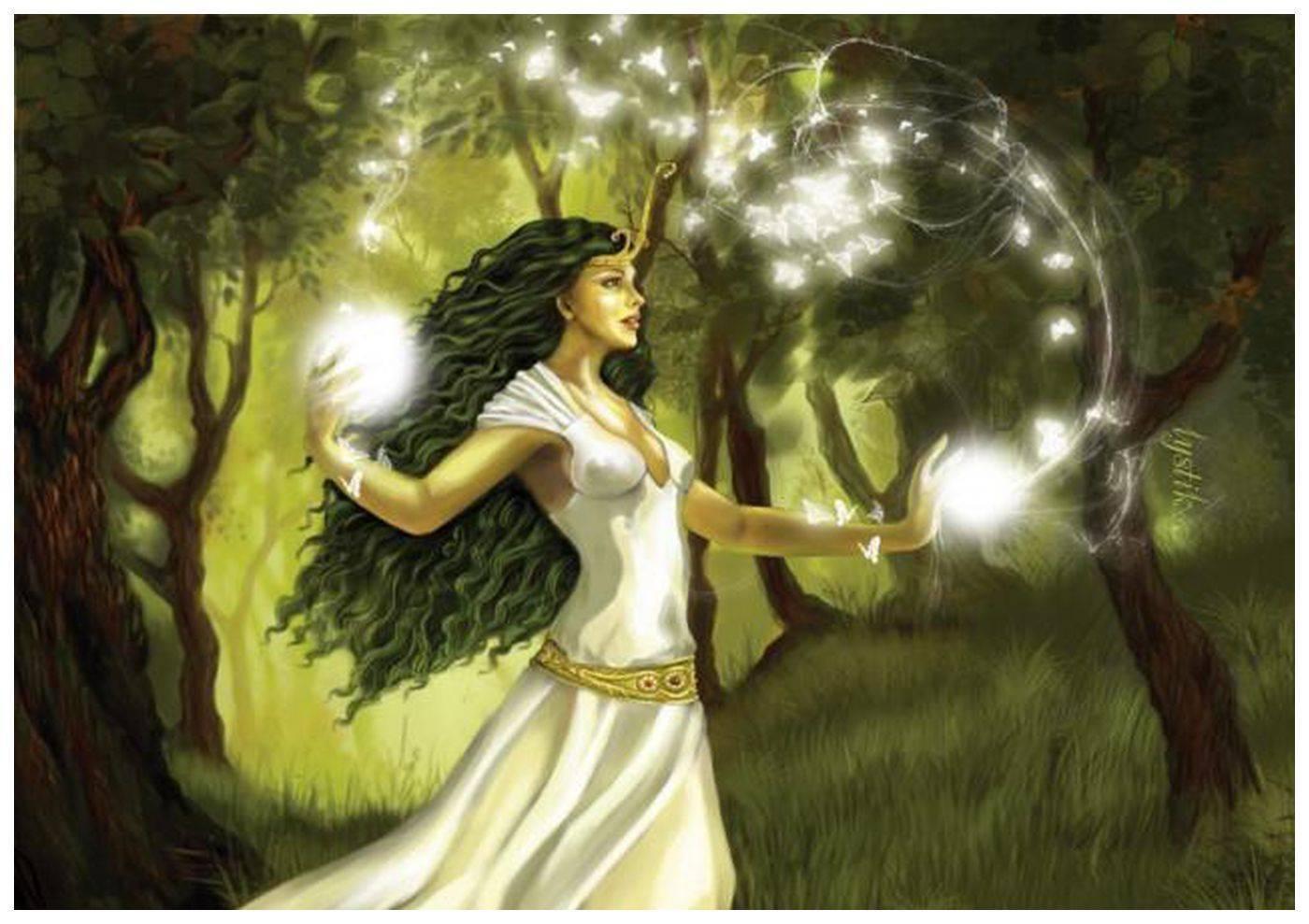 Как стать белой колдуньей, ведьмой или гадалкой