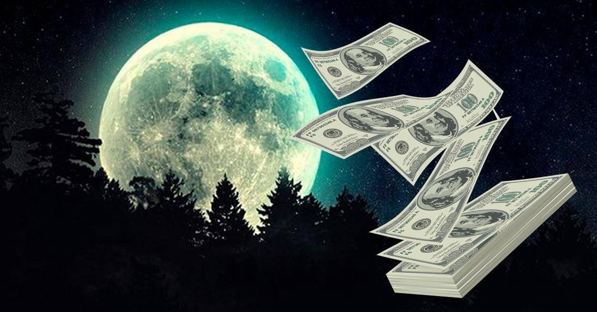 Заговоры и обряды на новолуние на деньги - на удачу и богатство