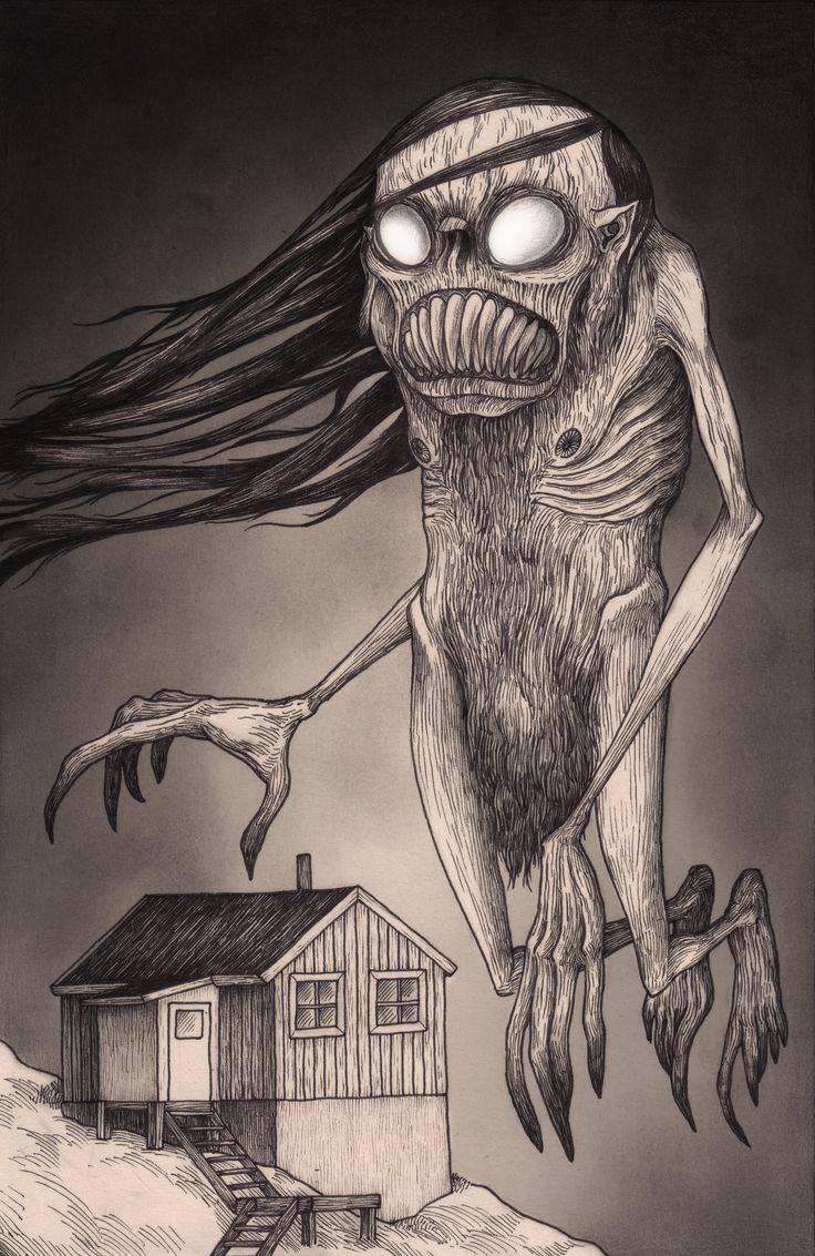 Бука страшное существо из детской комнаты