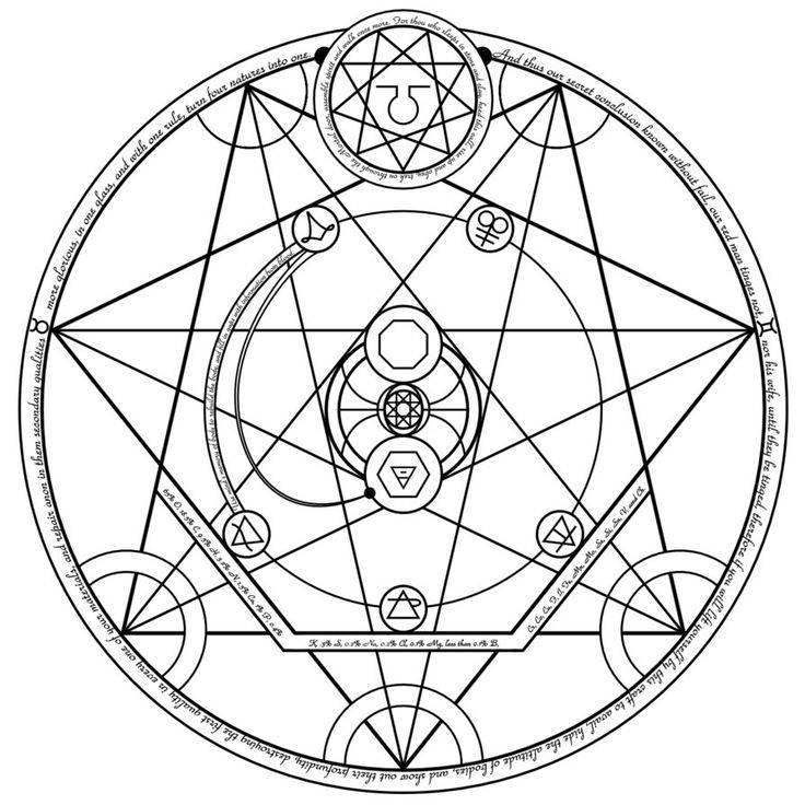 Алхимические амулеты и талисманы