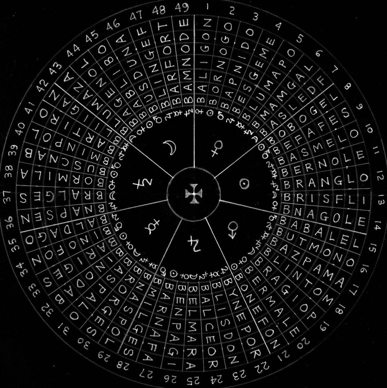 Енохианская магия — тайны религиозного оккультизма (5 фото) — нло мир интернет — журнал об нло
