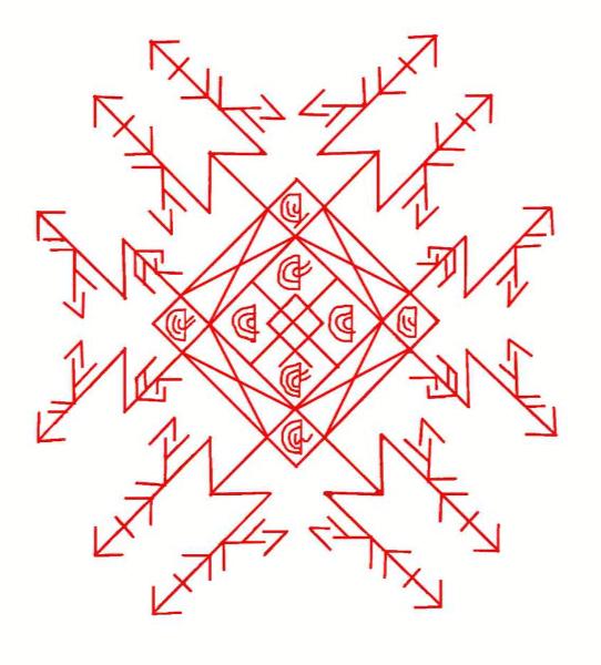 Рунический став «пчёлка» | эзотерический портал о гороскопе, гадании и магии