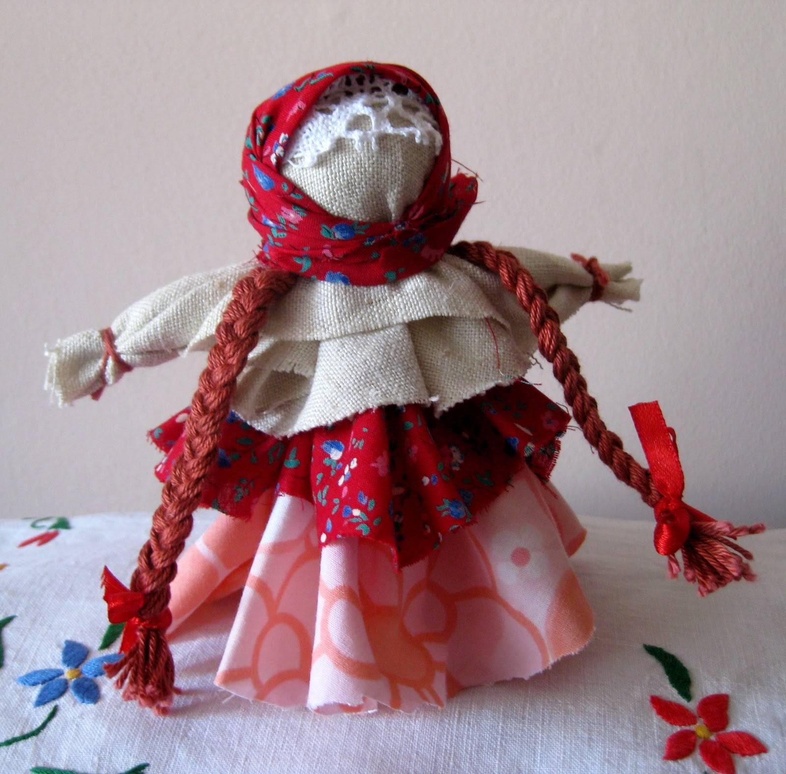 Кукла из ниток: как сделать своими руками | пошаговая инструкция