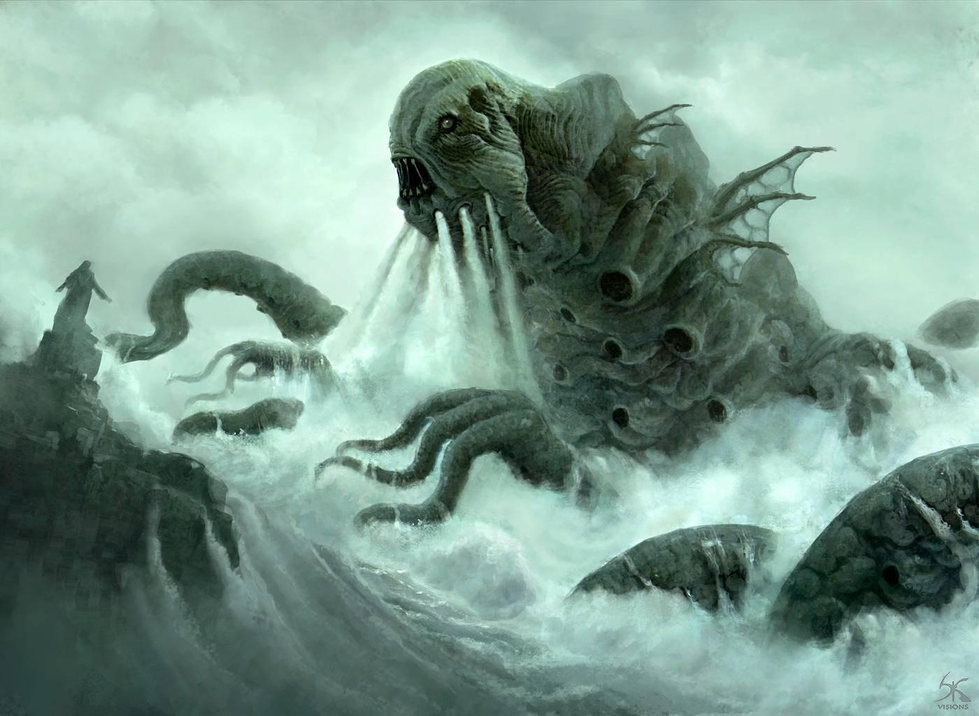 Кто такой левиафан? морское чудовище или нечто большее...