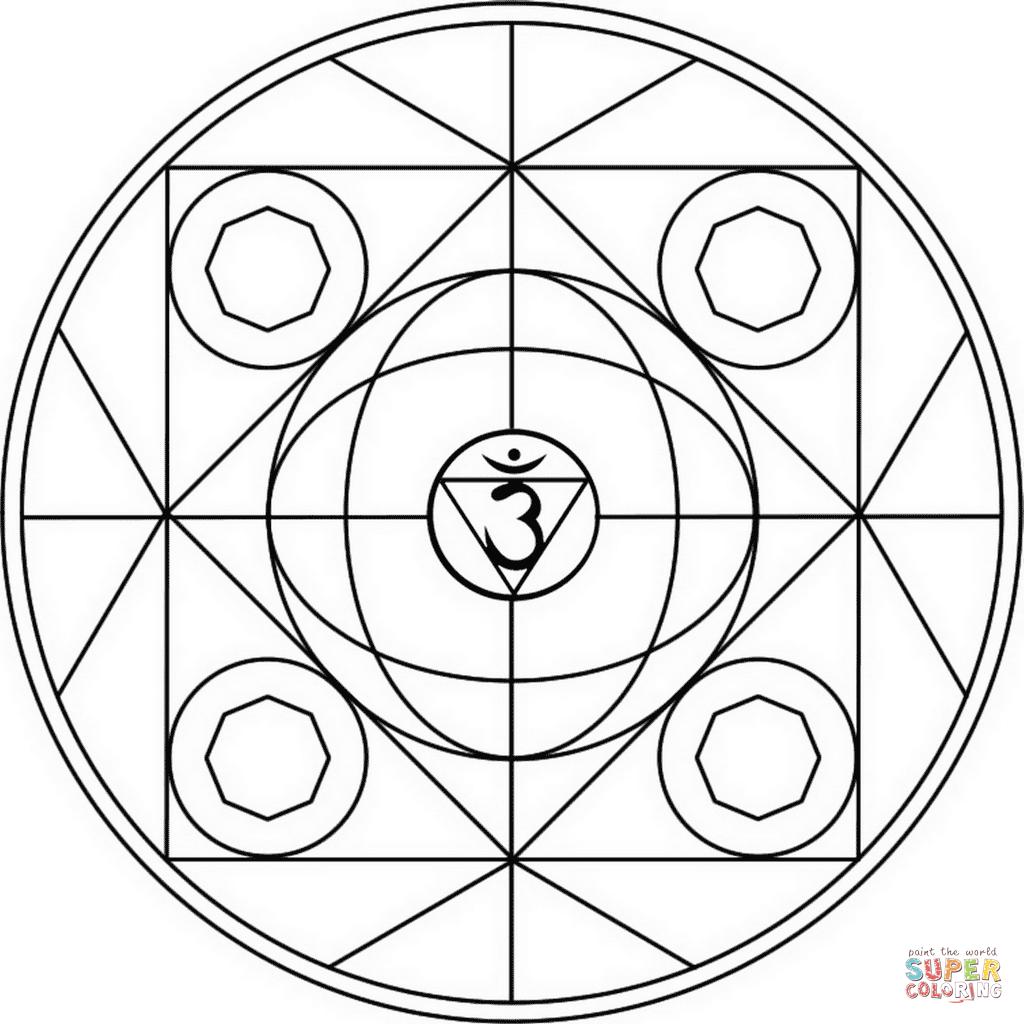 Значение мандалы: цвета, фигуры и символы