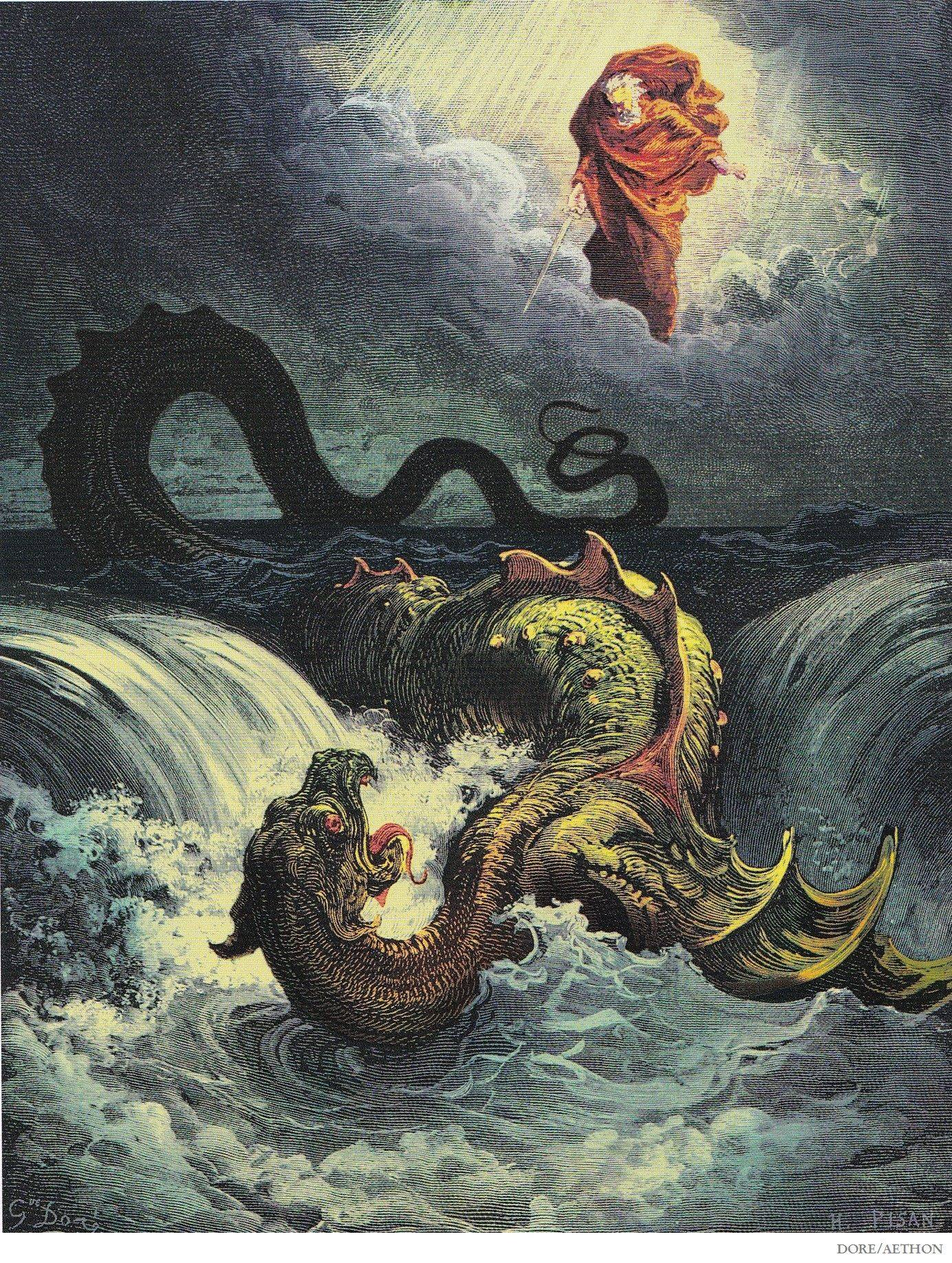 Левиафан — чудовище, демон или божественное творение