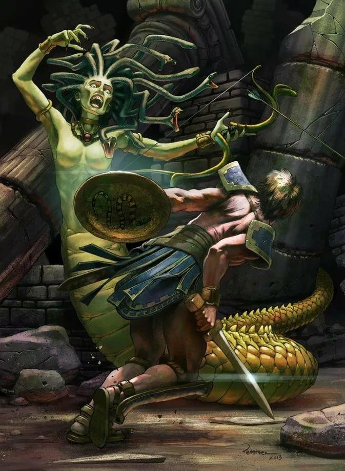 Особенности мифических существ древней греции