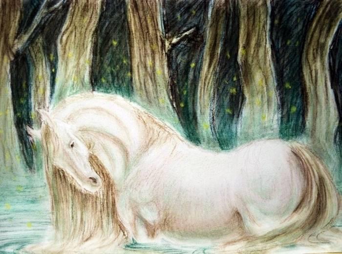 ⓘ водяная лошадь - вымышленное существо, характерное для мифологий северной европы. примеры включают в себя ceffyl dŵr, кавэл уштье, агиски, эх-ушкье, шупилти, но ..