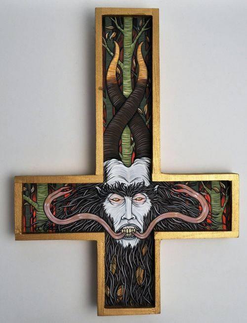 Церковный бес абара и злая церковная магия