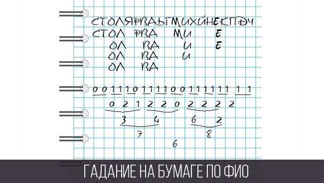 Гадания на листе бумаги с ручкой: 100% правдивое гадание на любовь, парня, желание и будущее
