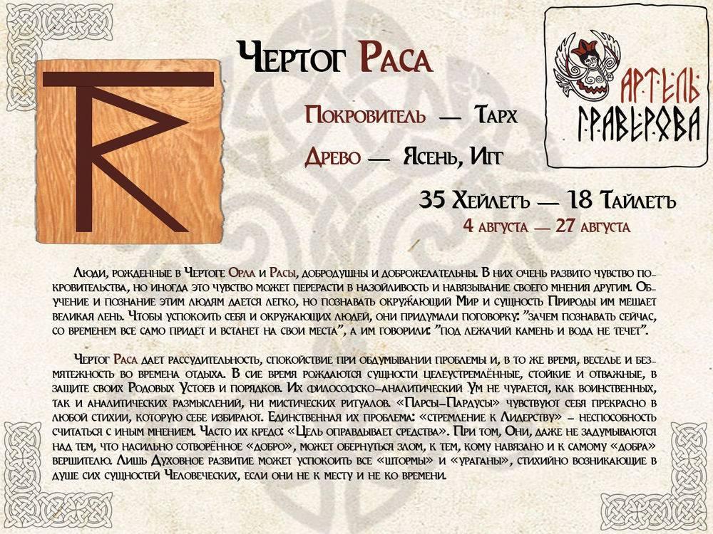 Гороскоп покровителя славянского бога по дате рождения