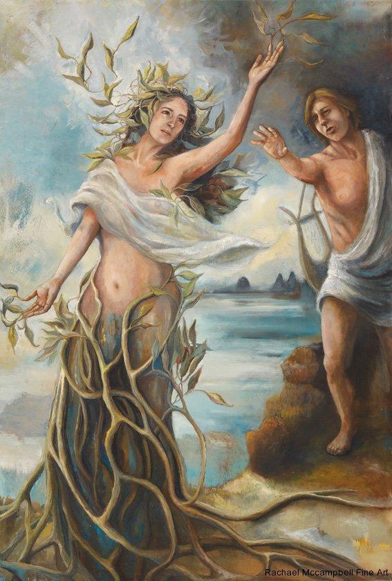 Наяды — речные божества из древнегреческого пантеона