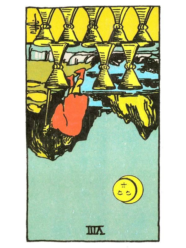 Значение карты таро — 2 кубков (чаш)