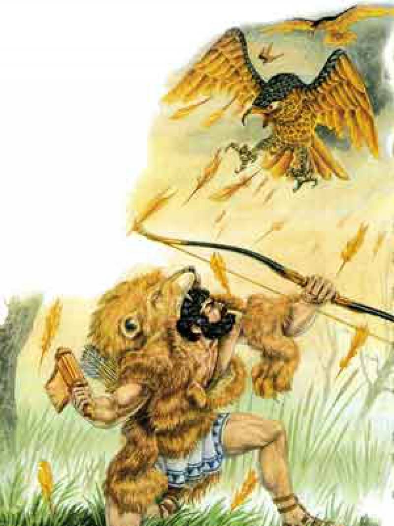 Сказка двенадцать подвигов геракла, мифы древней греции - читать для детей онлайн