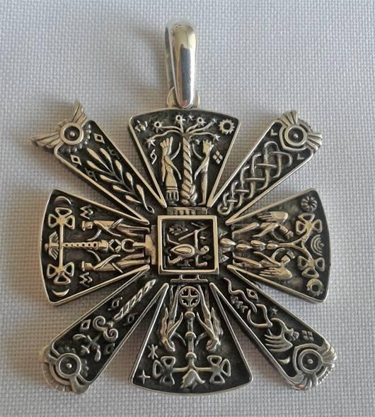 Оберег алатырь (крест сварога) – значение символа. звезда алатырь