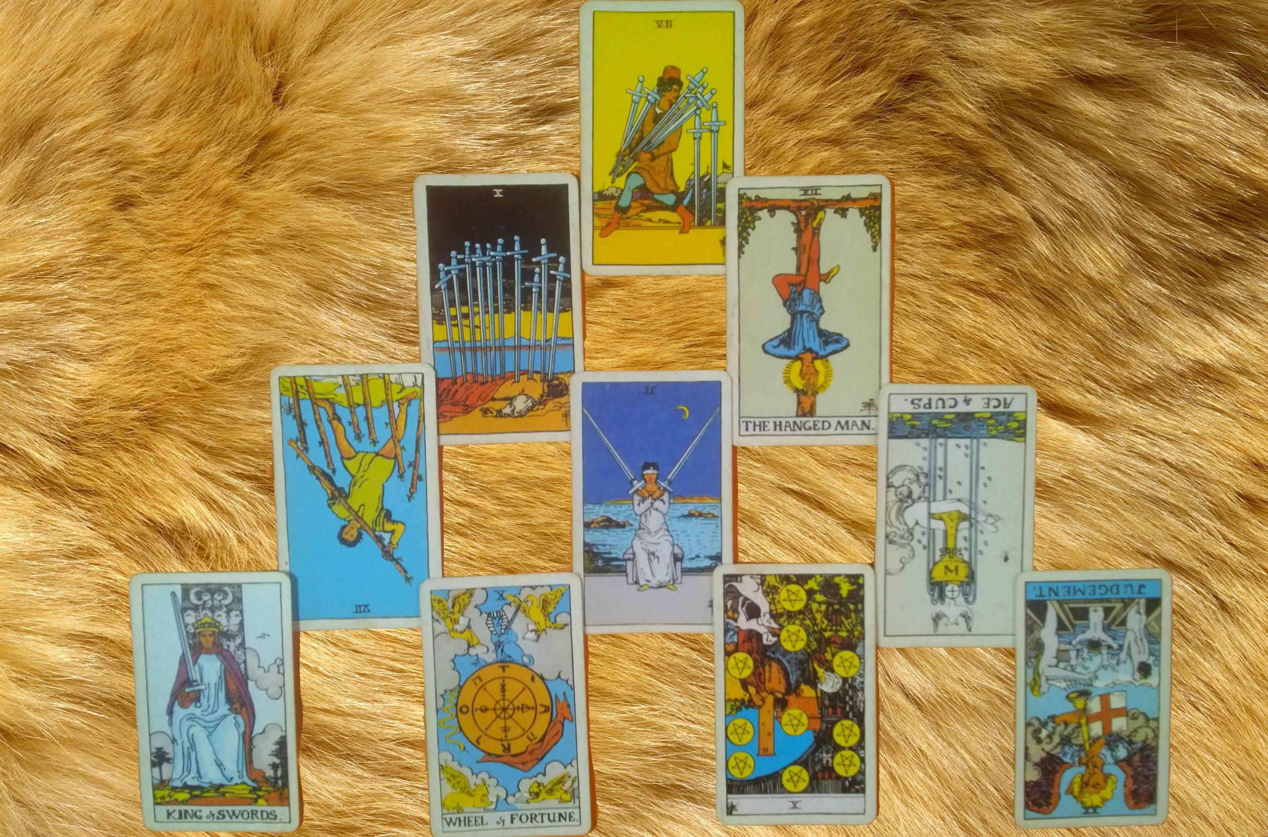 Таро тота алистера кроули — значение карт