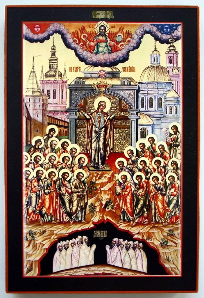 Описание икон для дома и семьи, какие святые на них изображаются и от чего помогают