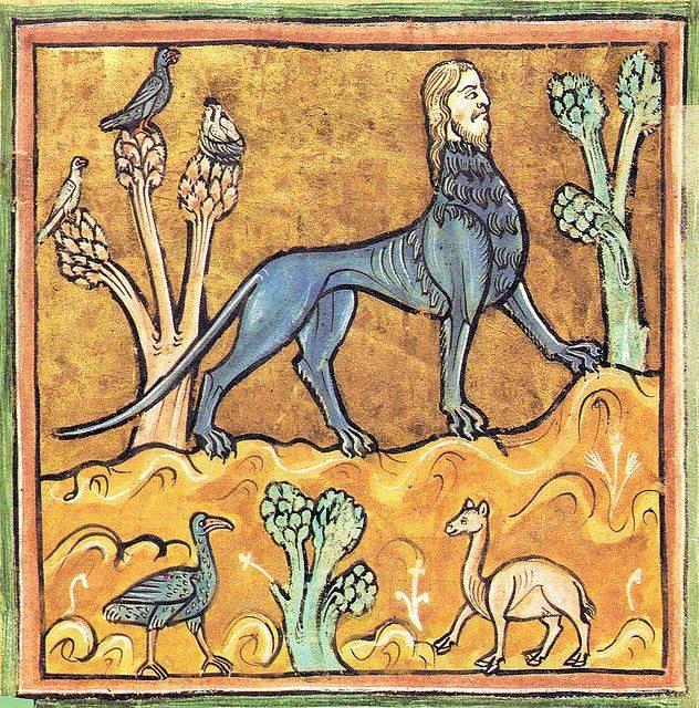 Иллюстрации средневековых бестиариев и манускриптов | bestiary.us