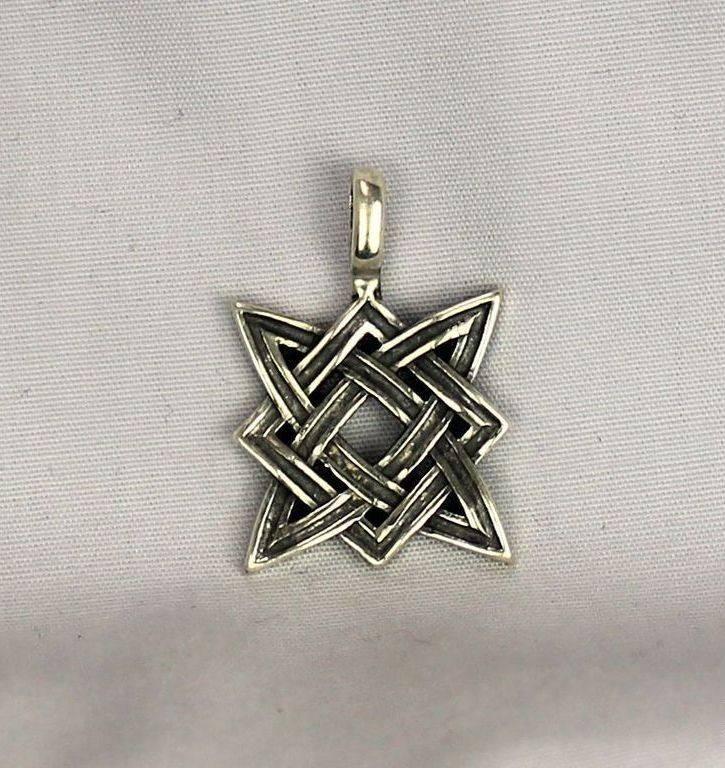 Славянский оберег Звезда Руси