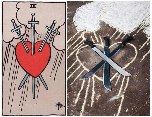5 мечей таро тота: значение и толкование карты