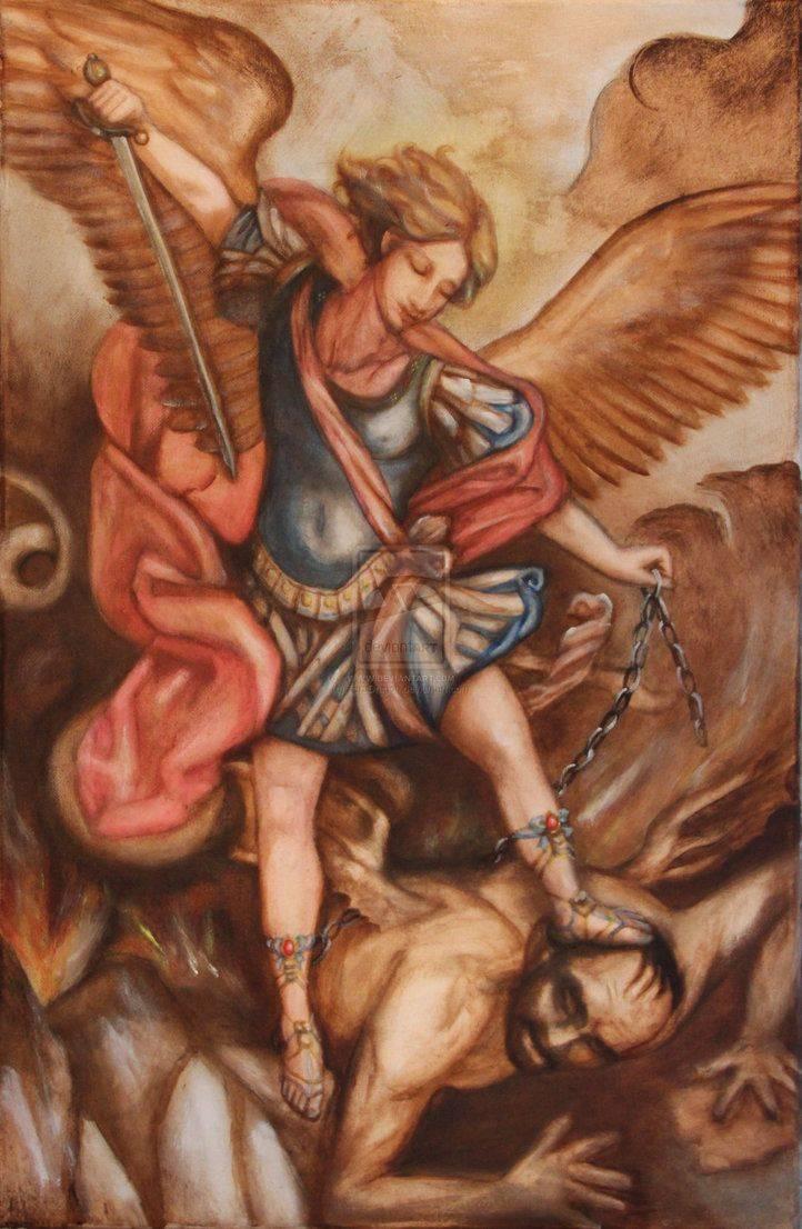 Архангел михаил – наш самый сильный защитник. история гордыни и мятежа. последняя надежда на спасение? сатана свержен с небес. разум, сила и правда   противоход