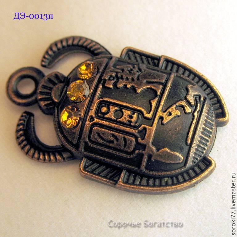 Священный жук скарабей - значение талисмана из древнего египта