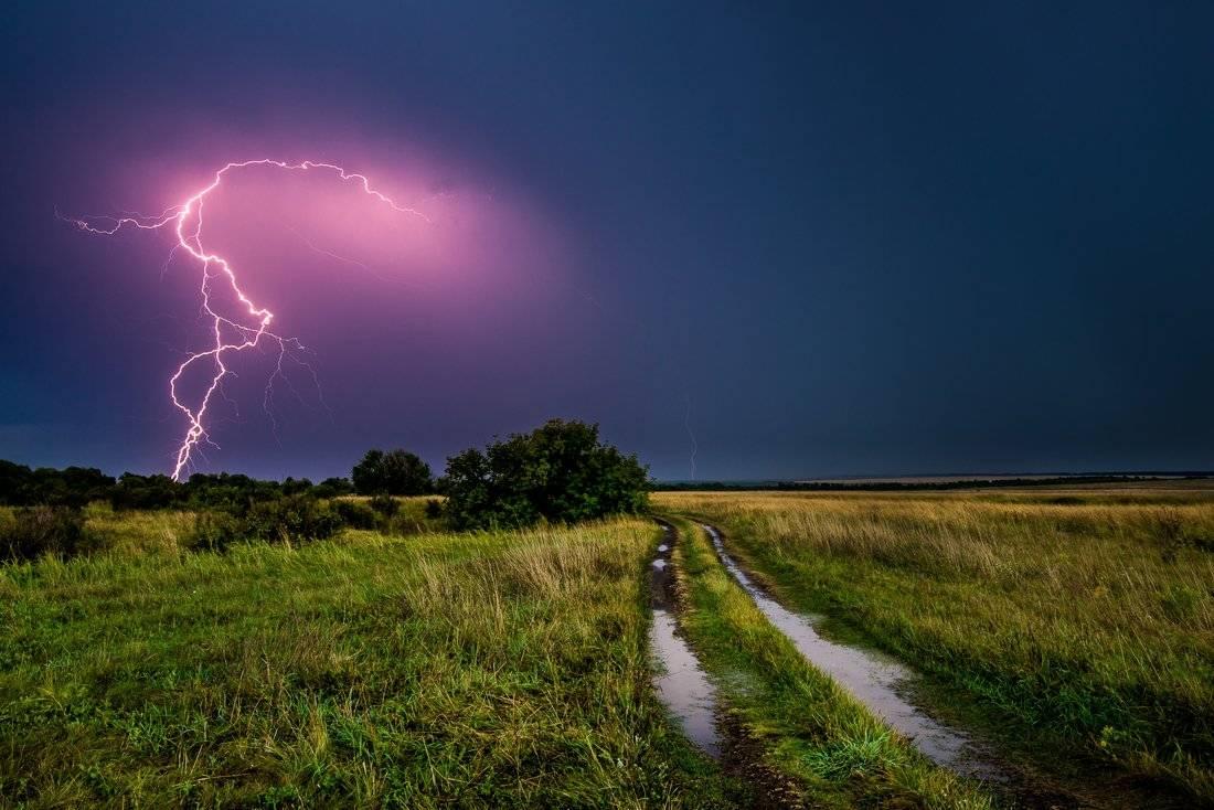 Народные приметы о дожде-ливне, грозах и молнии