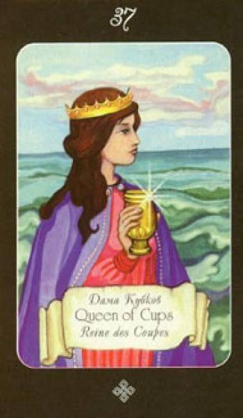 Королева кубков - расшифровка карты таро райдера уэйта для гаданий и раскладов